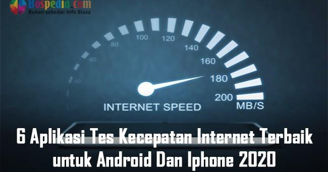 aplikasi tes speed internet terbaik