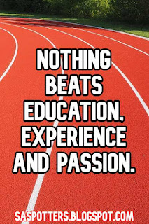 Nothing beats education, experience and passion.
