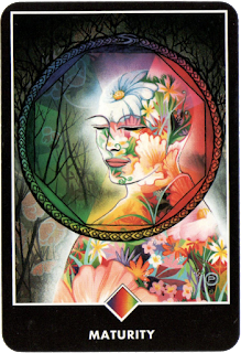 Osho Zen Tarot Ace of Rainbows Maturity