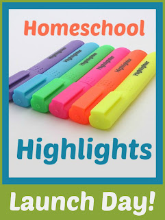 Homeschool Highlights - Launch Day! on Homeschool Coffee Break @ kympossibleblog.blogspot.com