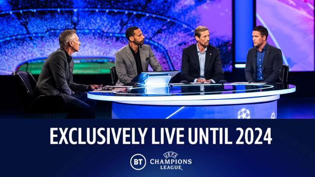 BT confirms exclusive UEFA deal until 2024