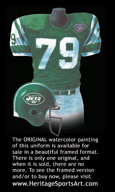 Jets Uniform History 46