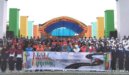 Sukses Deklarasi Milenial Safety Road Dan Kampanye Pemilu Damai 2019, di Kab. Kep. Selayar