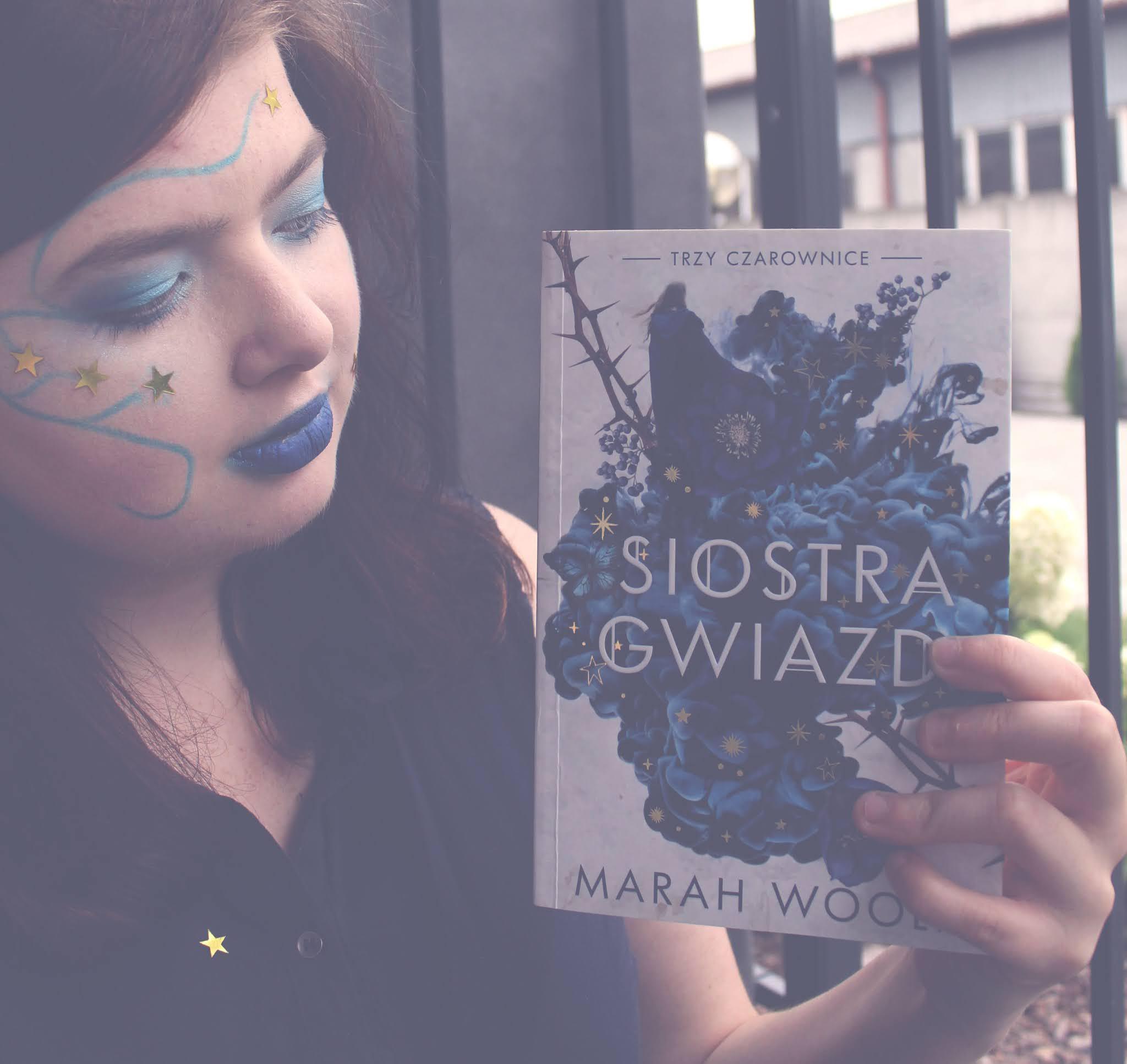 Siostra Gwiazd autorstwa Marah Woolf i artystyczna sesja książkowa