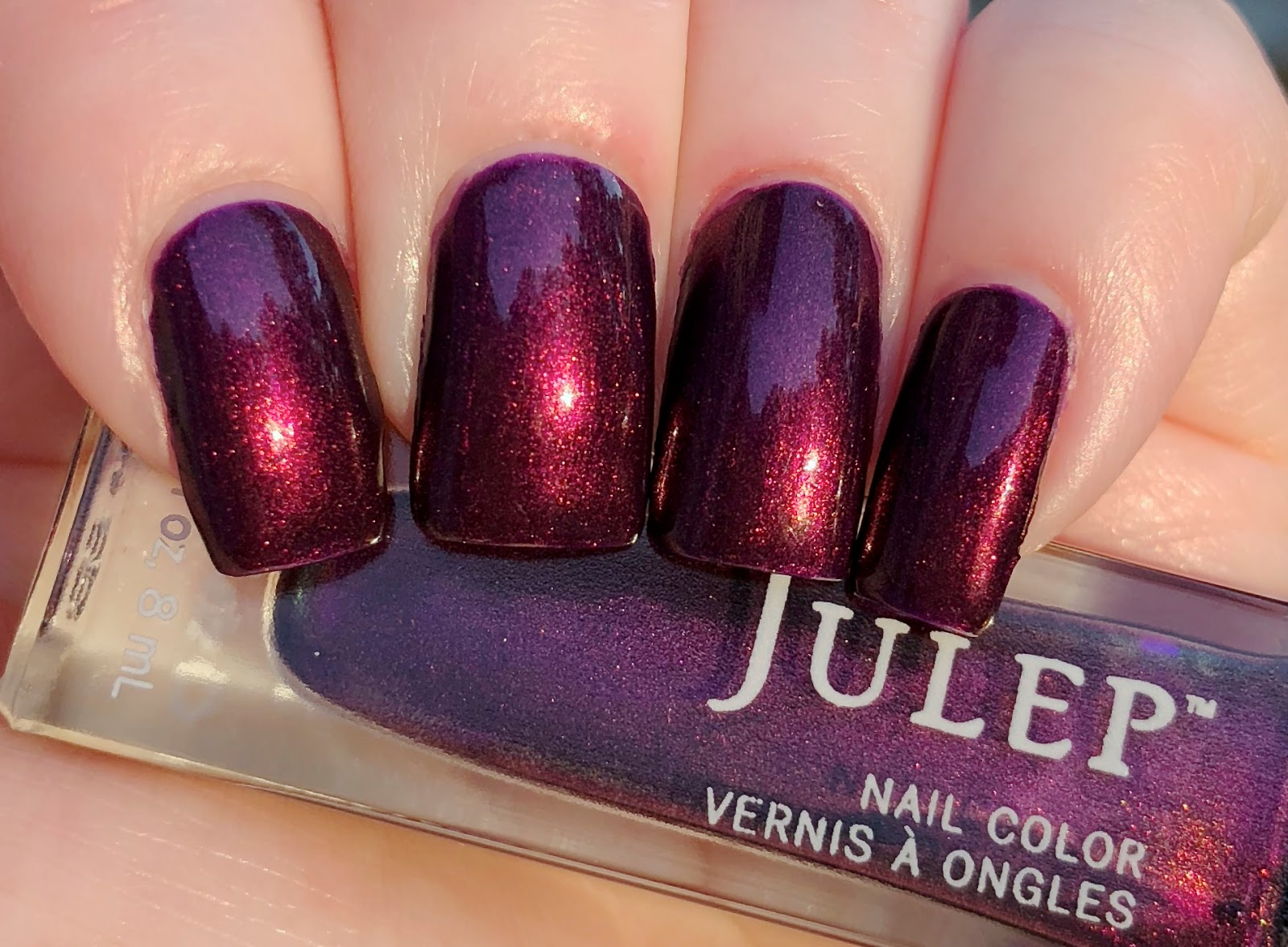 Blue Skies for Me Please: Julep\'s Peyton Manicure