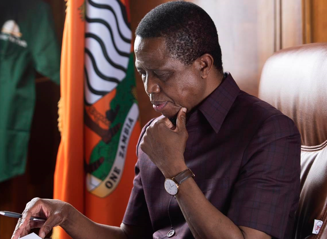 Dr. Edgar Chagwa Lungu; President of Zambia