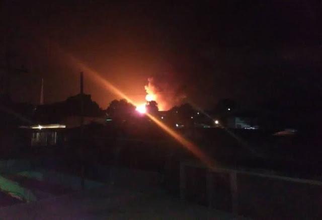 Explotó planta de llenado de gas doméstico en Maracaibo