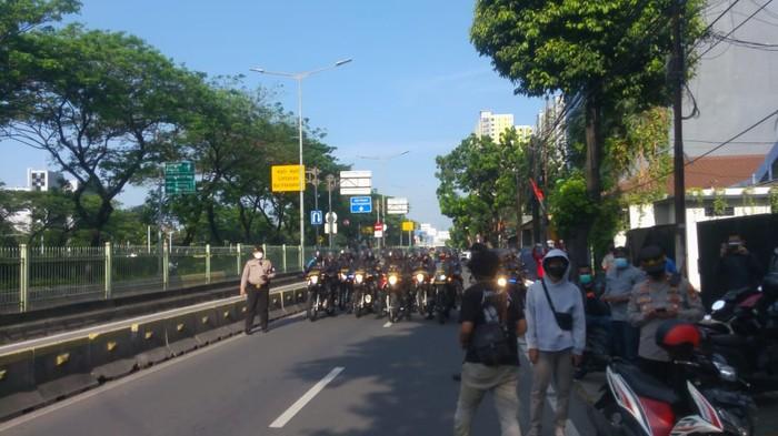 Belum Sampai di Istana Sudah Dicegat Rombongan Polisi, HMI Muis Tak Jadi Demo