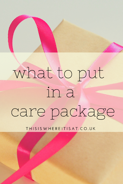 What to put in a care package