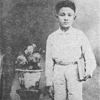 HB Jassin semasa kecil