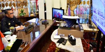 Gubernur Sulsel, Berharap Sinkronisasi Pemerintah Pusat Dengan Daerah Berjalan Sesuai Target