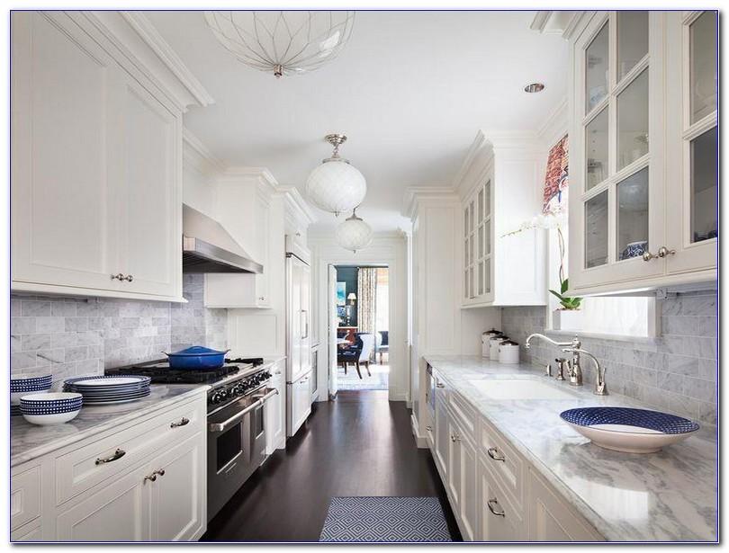 Small White Galley Kitchen Ideas Home Interior Exterior Decor Design Ideas
