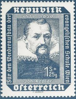 1973 Austria Postal Card Johannes Kepler
