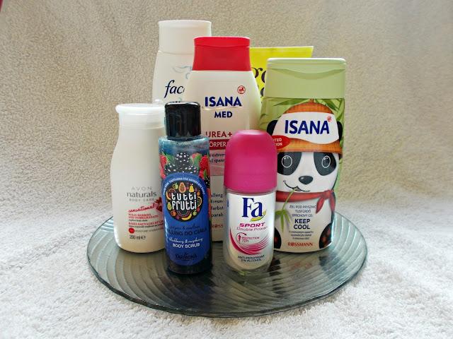 Opróżniamy nasze kosmetyczki: kosmetyki do pielęgnacji ciała