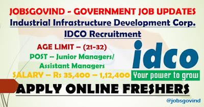 IDCO Recruitment 2021