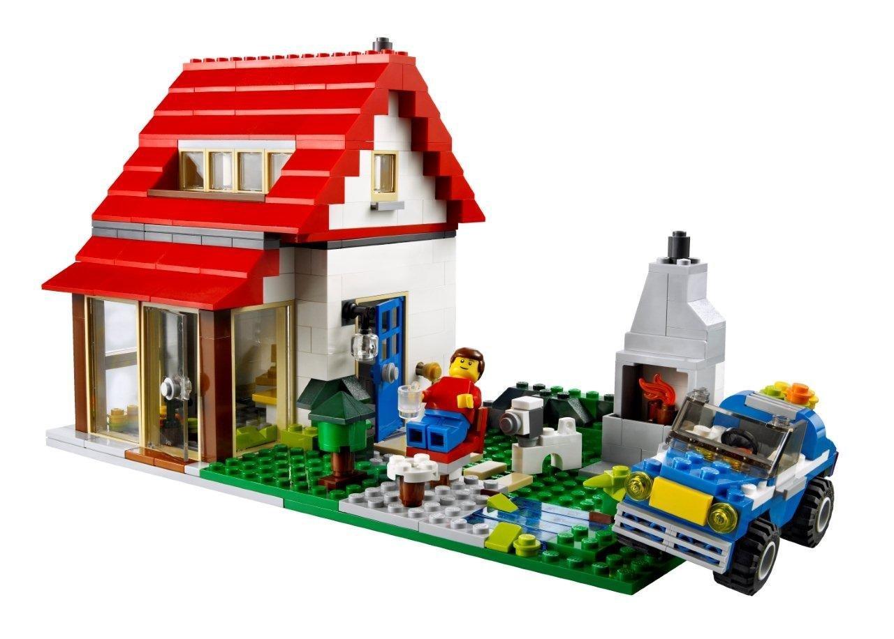 My Lego Style Lego Creator Hillside House 5771