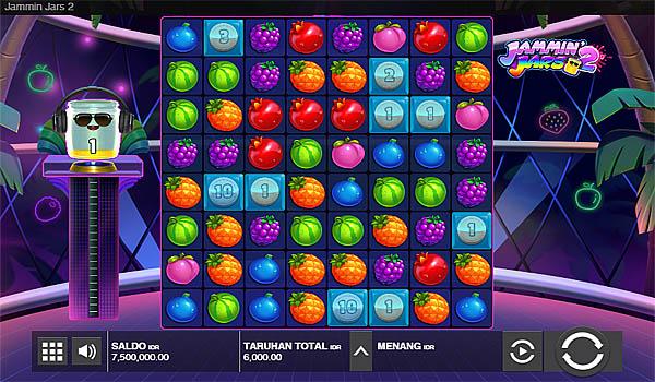 Main Gratis Slot Indonesia - Jammin Jars 2 Push Gaming