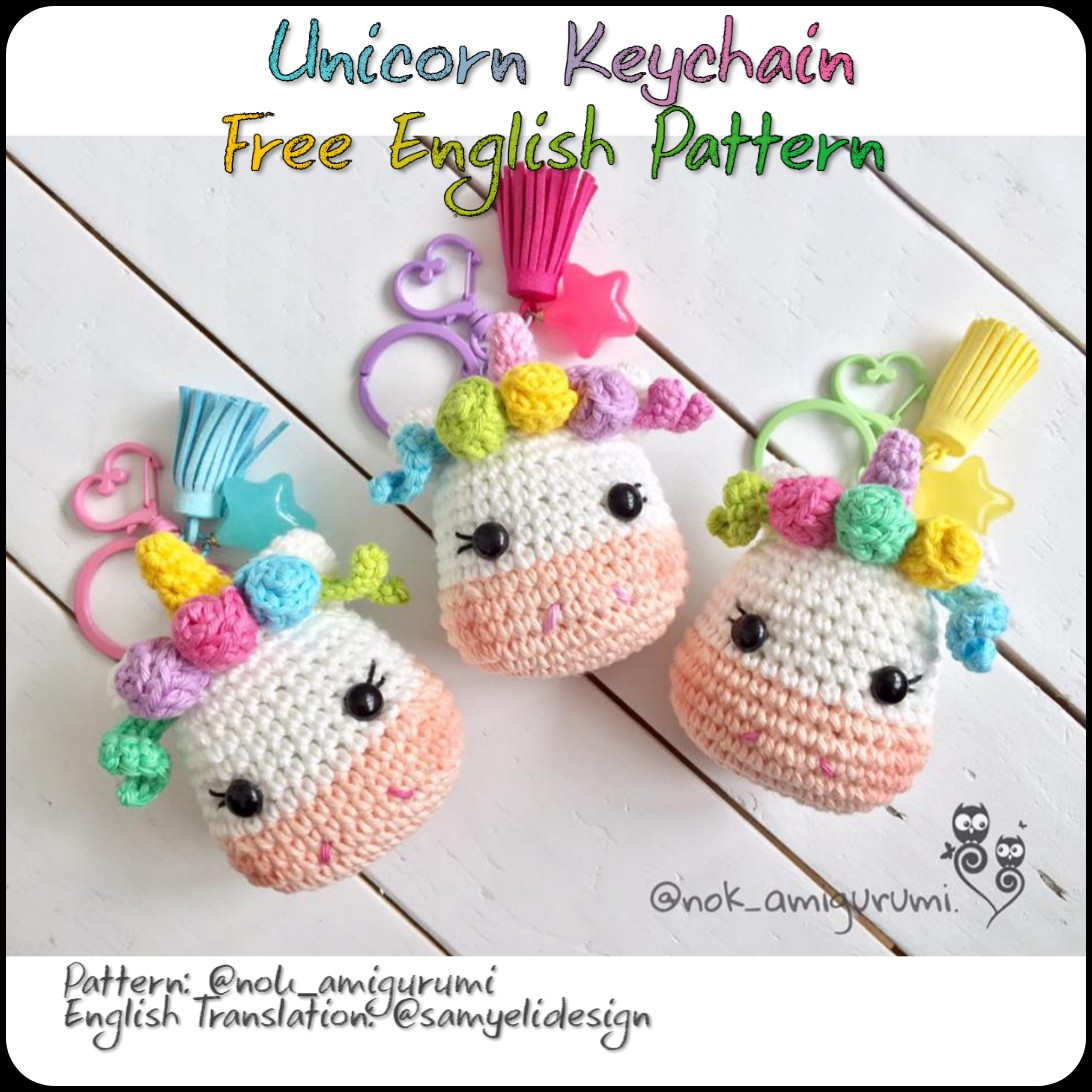 Free Crochet Unicorn Pattern - Red Ted Art - Make crafting with ... | 1092x1092