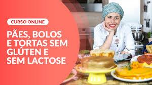 Cursos Online Pães, bolos e tortas sem glúten e sem lactose - Culinária