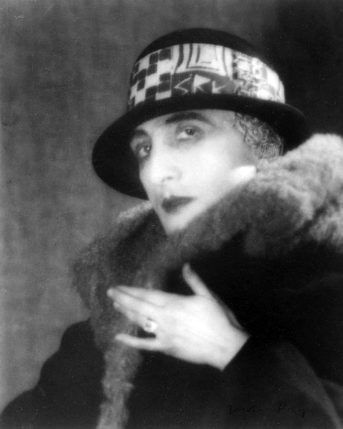 Rrose Sélavy, the female alter ego of Marcel Duchamp