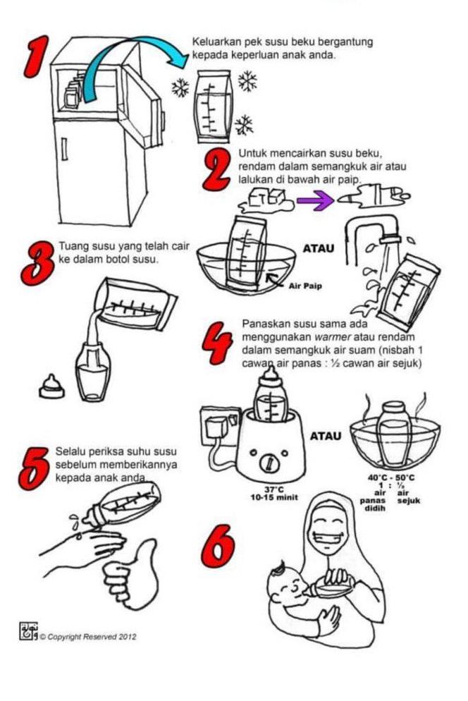 5 Langkah Mudah Beri Stok Susu Pada Anak