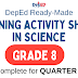 GRADE 8 - Learning Activity Sheets in SCIENCE (Complete Quarter 1) Free Download
