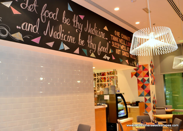 healthy foodie quotes in Ultra Brasserie