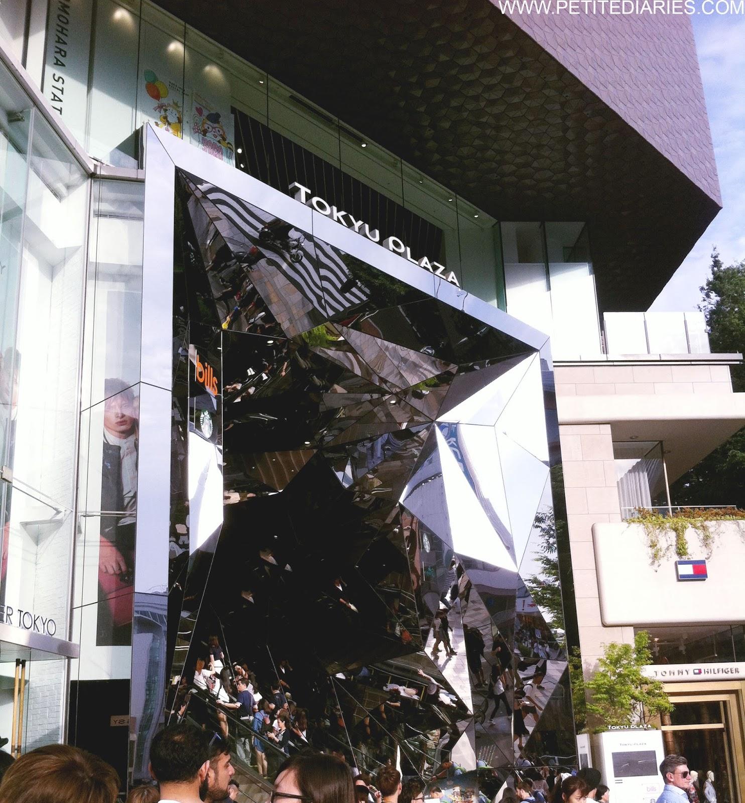 tokyu plaza omotesando shopping