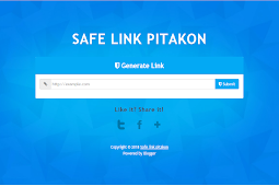 Template Safe link Premium Free Smple 100% WORK