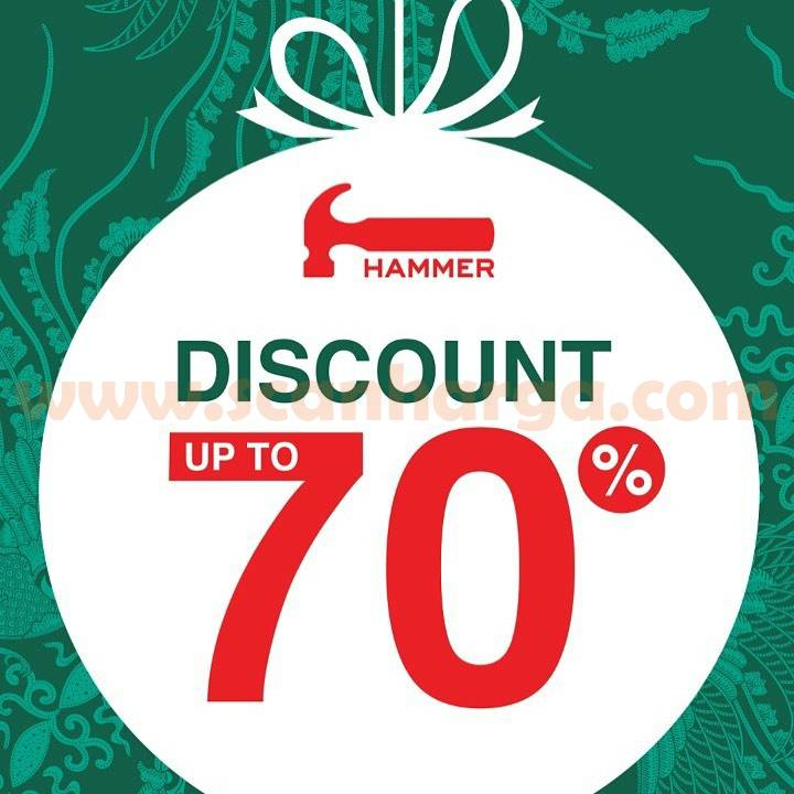 Promo Hammer Discount Up to 70% Off