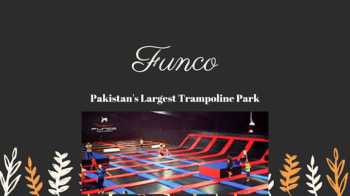 Pakistan's Largest Trampoline Park: Funco Air Park
