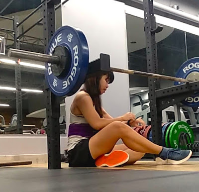 failed barbell squat