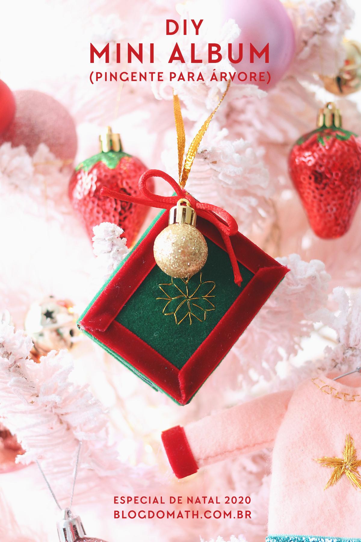 decoração arvore de natal com fotos da familia pingente enfeite mini album artesanato com moldes gratis passo a passo como fazer pinterest blog do mat
