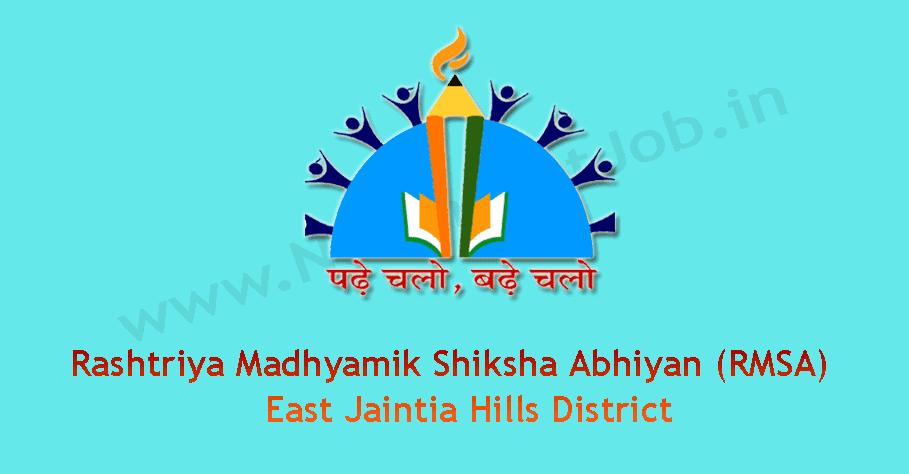 RMSA-East-Jaintia-Hills-District