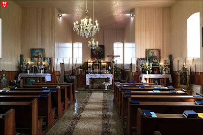 Костел святых Петра и Павла в Камне. Внутренний интерьер