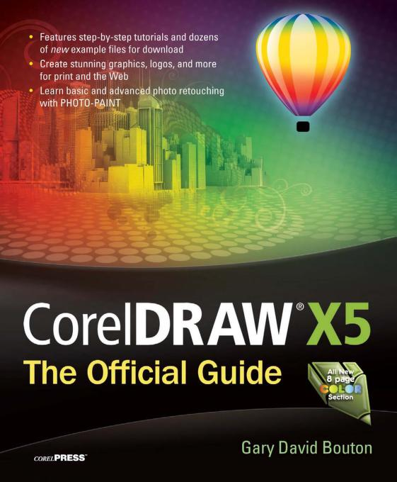 Corel Draw X5 Official Guide PDF Book