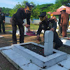 Dandim Bersama Kapolres Maros, Lakukan  Ziarah Makam Nasional Menjelang HUT TNI ke- 76 2021