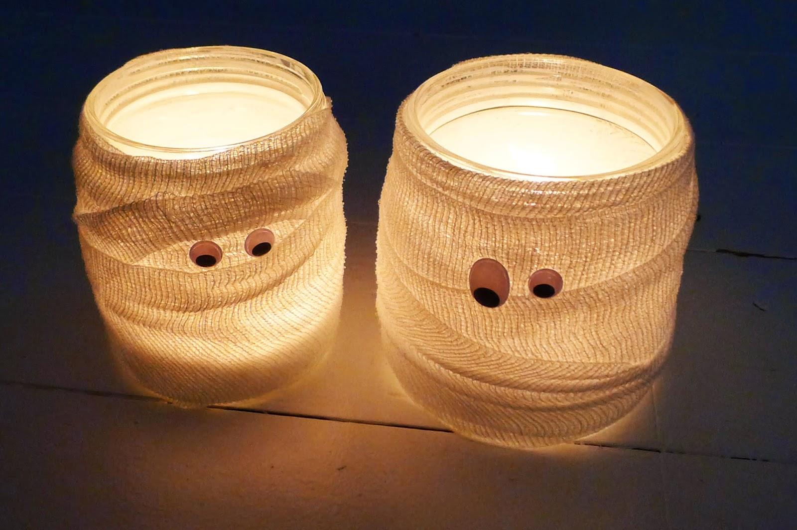 Teelichter Basteln nastami jeder bastelt mit diy windlichter