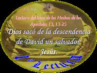 Resultado de imagen para Hechos de los apóstoles (13,13-25)