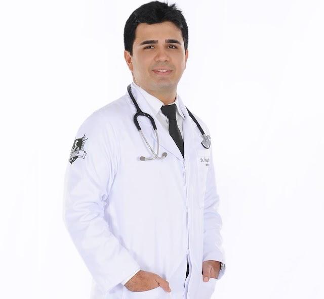Médico Dr. Thiego Ribeiro estaria sendo estimulado por elesbonense a ingressar em chapa como vice