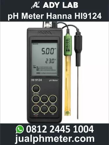 pH Meter Hanna HI9124 | Ady Lab Jual pH Meter Hanna Instruments di Bandung, Jakarta, Surabaya
