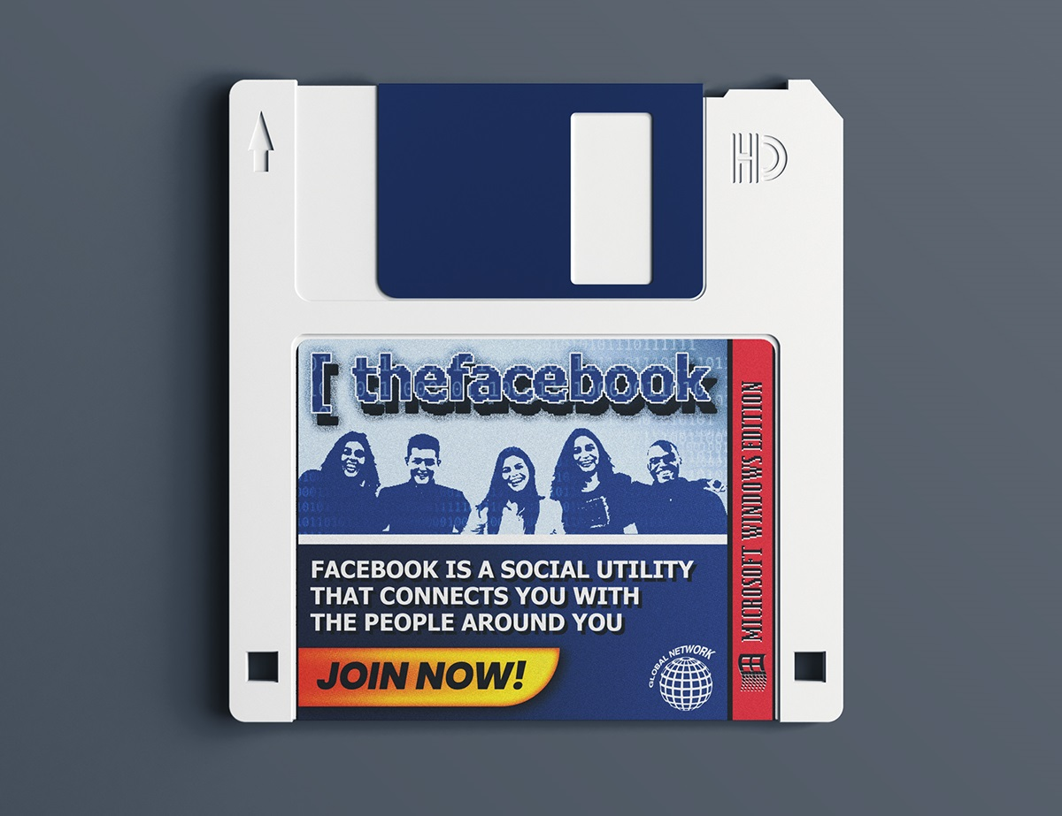 If Facebook Existed in the '90s