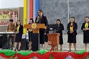 Michaela Elsiana Paruntu Pembicara KKR Di GKMI Tiberias Kekenturan