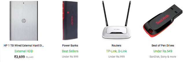 Flipkart The Big Billion Days Sale - Day 2 - All Electronics Deals at One Place