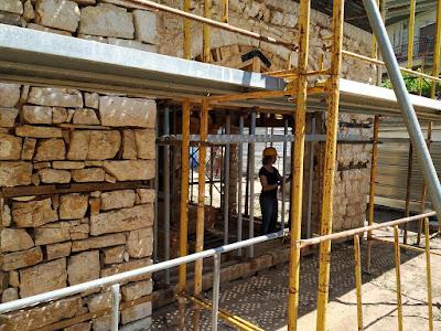 Σε εξέλιξη βρίσκονται οι εργασίες αποκατάστασης στο «σπίτι του Δεσπότη»