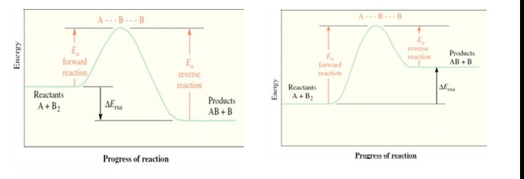 Teori tumbukan dan teori keadaan transisi dalam laju reaksi wanibesak gambar a diagram tingkat energi reaksi eksoterm ccuart Gallery