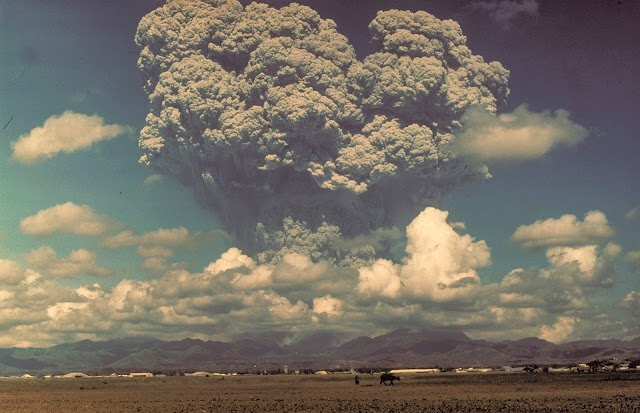 On This Day 6/15/91 Mount Pinatubo erupted (VEI-6)