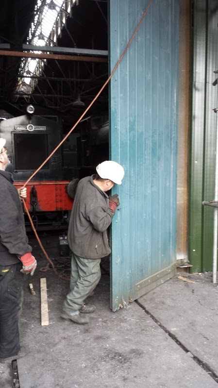 Tanfield railway blog news views of the shed front for Front door north tyneside