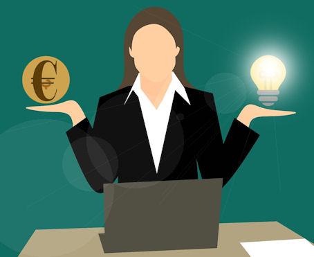 Ihminen joutuu punnitsemaan ideansa ja rahan välillä , kumpi vaikuttaa enemmän päätökseen!