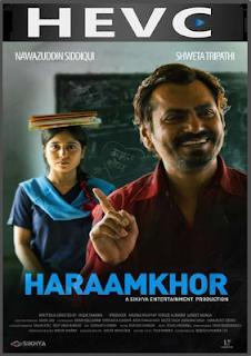 Haraamkhor 2017 Hindi 130MB Pre-DVDRip HEVC Mobile